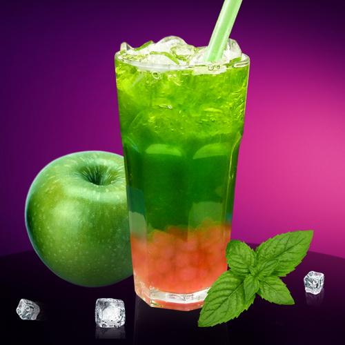Фруктовый Bubble Juice Мятное Яблоко