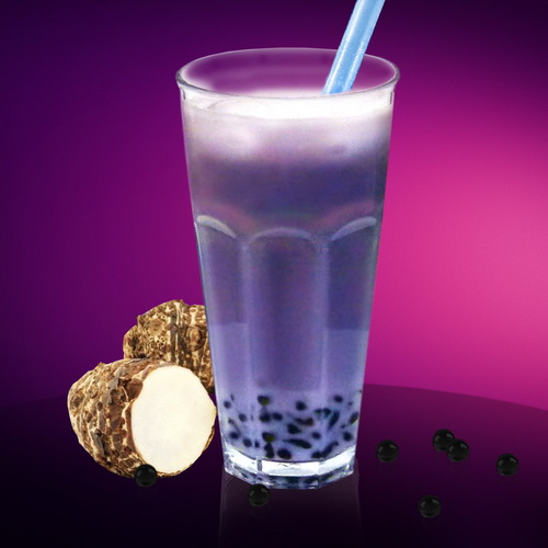 Молочный Bubble Tea Таро