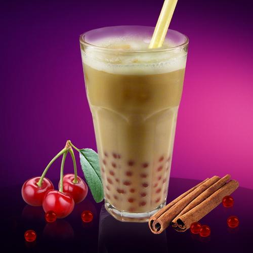 Молочный Bubble Tea Ваниль&Вишня