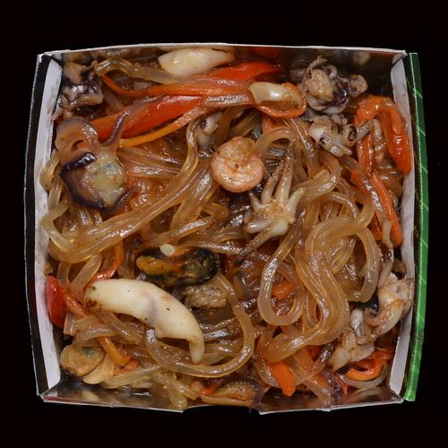 Стеклянная лапша с морепродуктами WOK