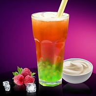Фруктовый Bubble Tea Малина&Йогурт